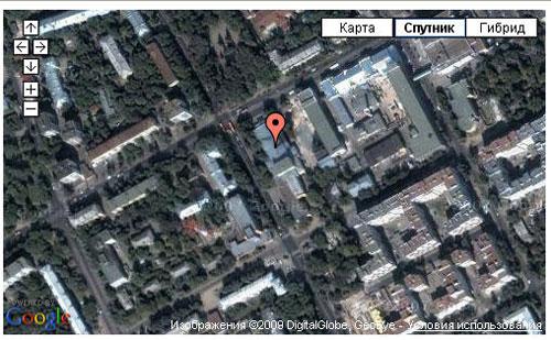 Пример GoogleMaps информационное окно - маркер
