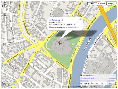 Карта Гугль - фото 5