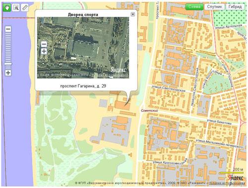 Две Яндекс.Карты на одной странице - карта в балуне