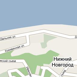Пример элемента карты Google Maps