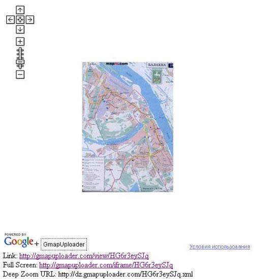 Своя карта на Google Maps с использованием сервиса Gmap Uploader