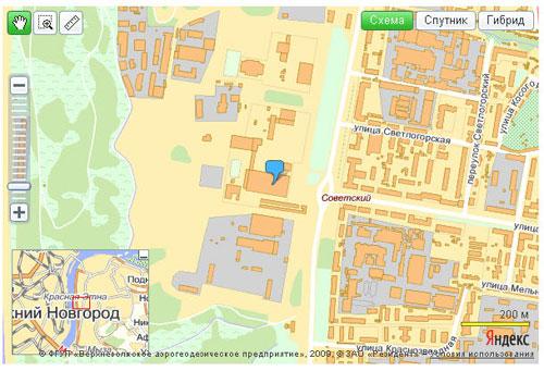 Отображаем файйл YMapsML с использованием API Яндекс.Карт