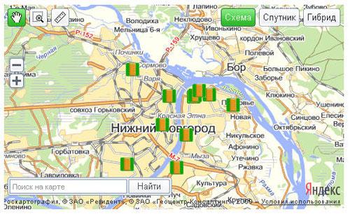 Доработка плагина  Яндекс.Карт для Joomla-файл в формате YMapsML