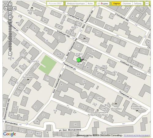 Совместное использование API Яндекс.Карт и Google Maps на примере портала «Где Этот Дом.Ру» рис-2