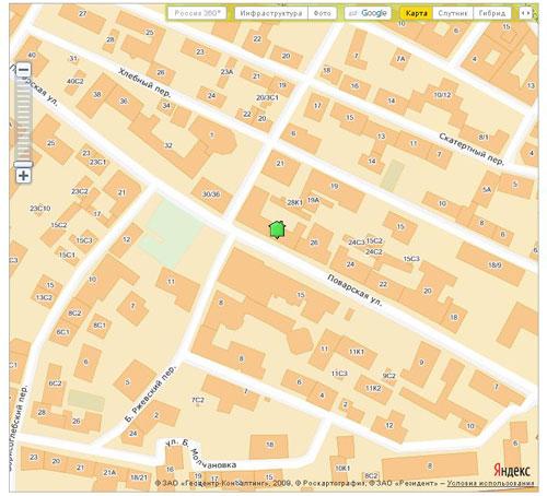 Совместное использование API Яндекс.Карт и Google Maps на примере портала «Где Этот Дом.Ру» рис-3