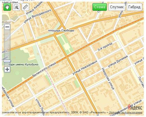 Карта - Компонент яндекс карт для Joomla 1.5