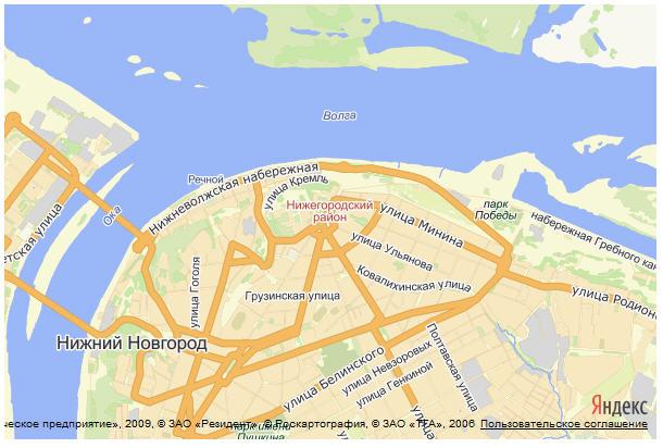 карта нижний новгород яндекс скачать - фото 4