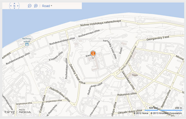 HTML5 Geolocation API и Bing Maps