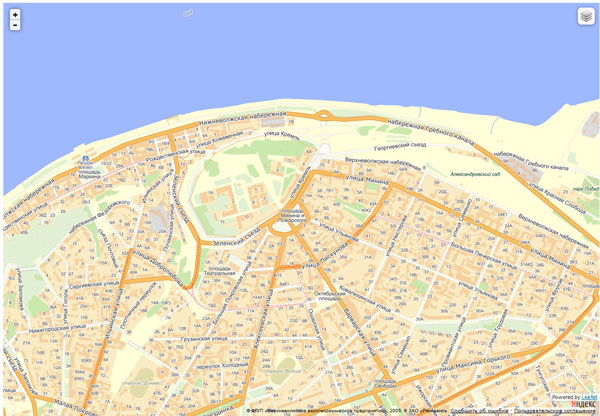 Вывод Яндекс.Карты
