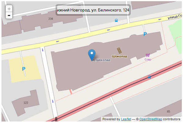 Leaflet - выводим слой OpenStreetMap и Leaflet.GeoSearch - OSM Provider