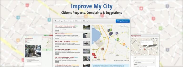 Improve My City: компонент для отслеживания проблем в городе на сайте Joomla