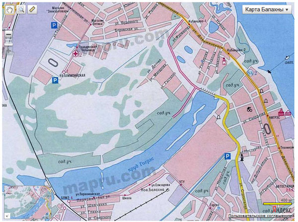 Создание собственной карты с использованием API Яндекс.Карт 2.x