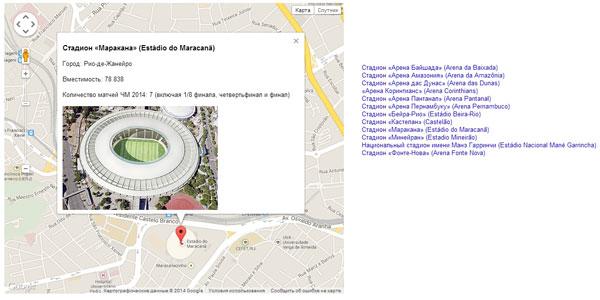 Стадион «Маракана» (Estádio do Maracanã) - Стадионы Бразилии чемпионат мира по футболу 2014
