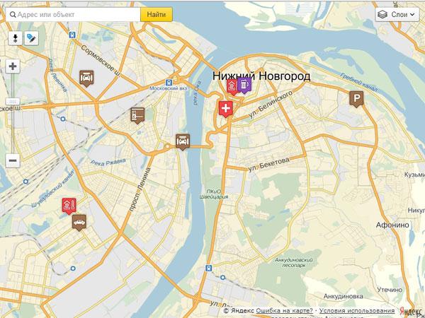 Справочник на карте - Админка для добавления и редактирования меток